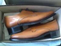 Saville Row brown size 7 shoes