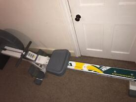 Air resistance rowing machine Can deliver