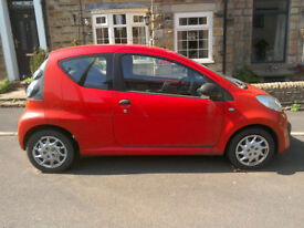 Red Citroen C1 for sale Glossop/Hadfield area