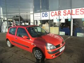 £30 ROAD TAX ! DIESEL !!! 2004 L RENAULT CLIO 1.5 EXTREME 3 DCI 3D 65 BHP * PART EX WELCOME *