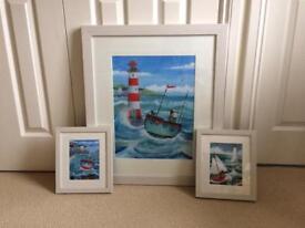 Peter Adderley Framed prints