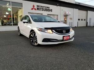 2014 Honda Civic EX; Local & No accidents! Brand new tires