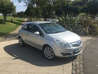 Vauxhall Corsa Design full vauxhall service history £2200 half leather air con Excellent little car