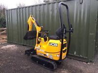 MICRO DIGGER HIRE (SELF DRIVE) We Cover all NOTTINGHAMSHIRE & DERBYSHIRE