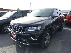 2014 Jeep Grand Cherokee LIMITED**8.4 TOUCHSCREEN**NAVIGATION**S