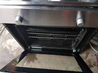 electric hob and electric oven