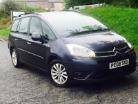 2008 CITROEN C4 PICASSO DUAL FUEL FSH FREE DELIVERY