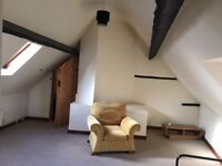 Town apartment traditional Self contained large bedroom en suite bathroom , galley kitchen