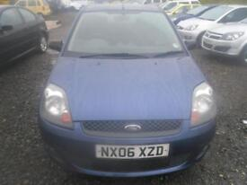 FORD FIESTA 1.25 Zetec 5dr [Climate] WILL COME WITH FULL YEARS MOT. ONLY 65K MILES (blue) 2006