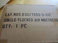 Brand New Single Air Flocked Mattress Still In Box
