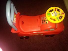 Disney Lightning McQueen push bike
