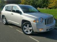 2008 JEEP COMPASS 2.0CRD*LIMITED EDITION*FSH*LEATHER*H/SEATS*MINT COND'N#X-TRAIL#LANDROVER#CRV