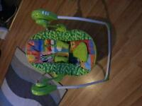 baby jungle swing and bouncer for sale £30 for both or £15 pound each