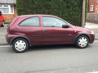Red Corsa Twinport for sale - 12 months MOT