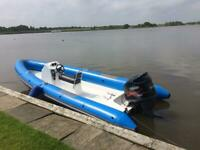 Ring Rigid Inflatable Boat 6.5 metre 250hp Yamaha VMAX Outboard