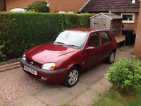 Ford Fiesta 2002. 1.2l petrol