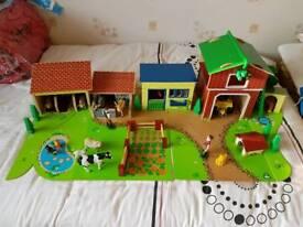 Wooden Farm set