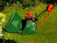 petrol self propelled cylinder mower suffolkpunch