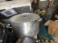 Big stainless steel Pot for large occasions