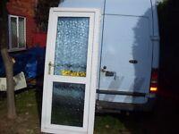 2 upvc doors to clear standard