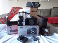 Canon 50d with full kit