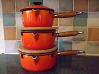 Le Creuset Saucepan and Pan Set
