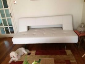 Sofa cum bed in excellent condition. Bought from Dwell. Converts easily into sofa bed.