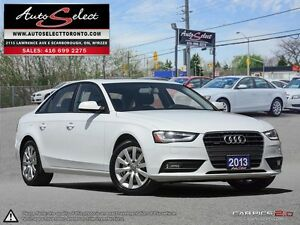 2013 Audi A4 Quattro AWD ONLY 43K! **CLEAN CARPROOF** LIGHTS PKG