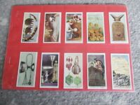 Superb Vintage Set of 50 Churchman's Cigarette Cards 1935 'Treasure Trove'