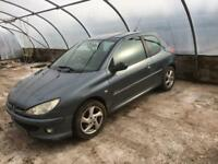 Peugeot 206 breaking for parts