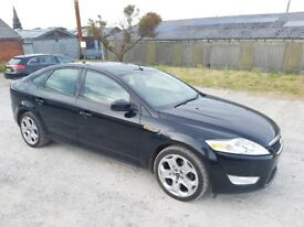 2009 FORD MONDEO 2.0 TDCI ZETEC 140 BHP 5 DOOR HATCHBACK BLACK 12 MONTH M.O.T