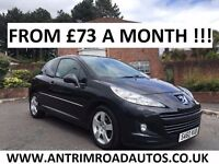 2010 PUGEOT 207 HDI 1.6 SPORT ** SERVICE HISTORY ** FINANCE AVAILABLE ** ALL CARDS ACCEPTED