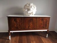 Lovely chest sideboard 60s 70s era with lacquered surface.
