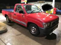 1999 Toyota Hilux 2WD 2.4D non-turbo.