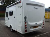 4birth Elddis Xplore 304 ES light weight and easy towing