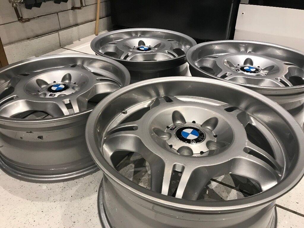 Bmw E36 M3 Evo Alloy Wheels Genuine Staggered Set Bbs Z3