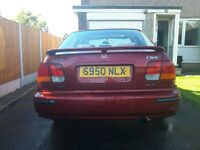 Honda Civic VTI saloon very rare car * swap px 2000 turbo wrx *