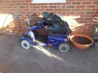 mobility scooter one of the better ones invacare auriga and a pride also needs batteries