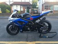 Suzuki Gsxr K7 600 track bike