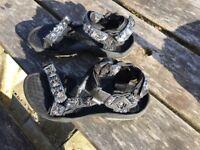 Teva Terra Fi sports sandals, size 9