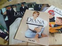 COLLECTION OF DIANA MAGAZINES /DIANA THE UNTOLD STORY