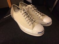 Converse JACK PURCELL - SIGNATURE OX M SERIES - Beige Canvas - Size 8.5 UK - NEW - Vintage