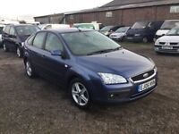 2006 FORD FOCUS TITANIUM MODEL WITH RARE SAT NAV ALLOYS VERY CLEAN CAR IN AND OUT SERVICE HISTORY