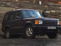 2000 Land Rover discovery td5 GS