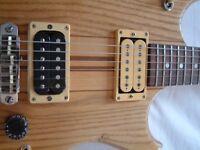 Westone Thunder II electric guitar - Matsumoku,Japan - 1980s - Stripped body