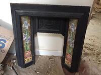 Vintage fireplace surround
