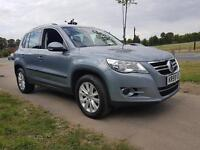 VOLKSWAGEN TIGUAN 2.0 TDi SE (mountain grey) 2009