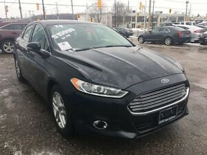 2014 Ford Fusion SE *LEATHER-HEATED SEATS* Kitchener / Waterloo Kitchener Area image 6