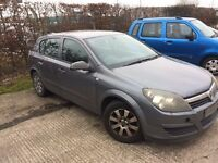Vauxhall Astra, 2005, Club, 1.6L Petrol, Spares or repairs