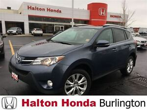 2014 Toyota RAV4 Limited | 6SP | ALLOYS | LEATHER | SUNROOF